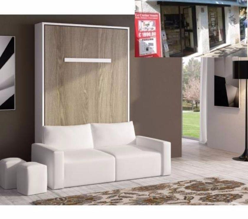 Letto a scomparsa con divano letto 140 in vendita roma vendita mobili usati - Divano letto a scomparsa prezzo ...