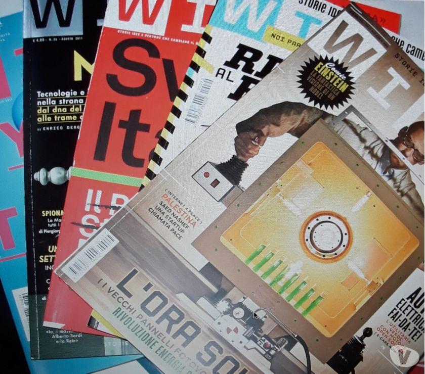 Foto di Vivastreet.it Lotto 5 numeri rivista wired Italia