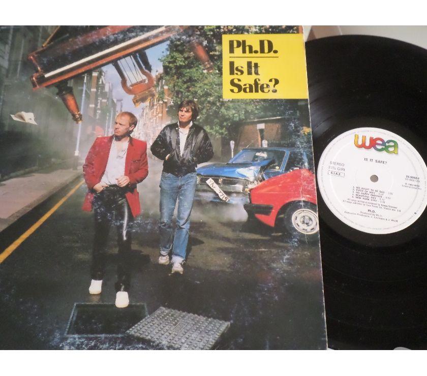 Foto di Vivastreet.it Ph.D. - Is It Safe? - LP 33 giri 1983 WEA Italy
