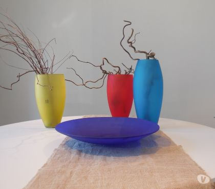 Foto di Vivastreet.it vasi in vetro di murano LIP, complemento d'arredo