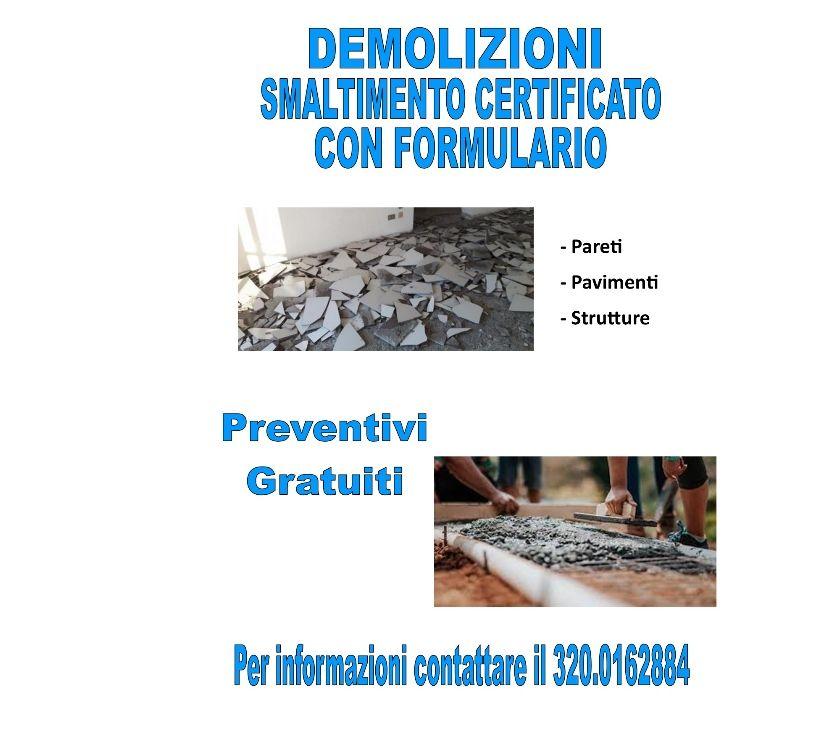 ristrutturazioni edilizie Roma e provincia Roma - Foto di Vivastreet.it DEMOLIZIONI CON FORMULARIO