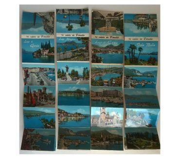 Foto di Vivastreet.it Laghi - lotto di 4 libretti 56 cartoline Cecami formato picc