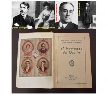 Foto di Vivastreet.it Il Romanzo dei Quattro, A. Salani 1^ Ed. 1924.