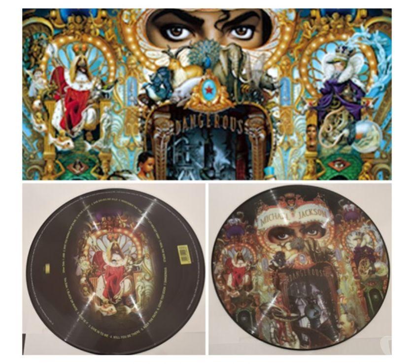compact disc dvd e videogames Bologna e provincia Bologna - Foto di Vivastreet.it MICHAEL JACKSON, DANGEROUS, Picture Vinyl, England 1997.