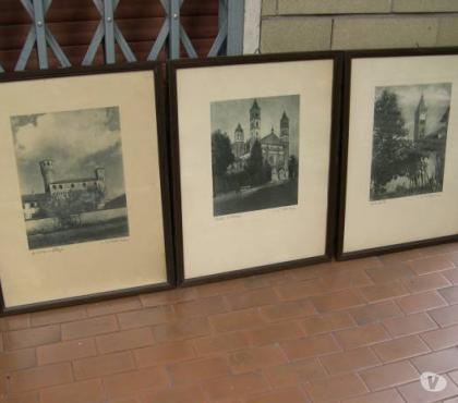 Foto di Vivastreet.it quadri con stampe antiche, stampe antiche con cornice noce