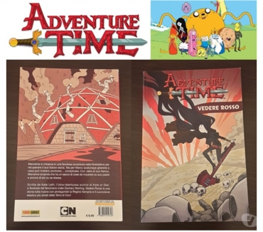 Foto di Vivastreet.it ADVENTURE TIME, VEDERE ROSSO, Vol. N. 3, Panini Comics 2016.