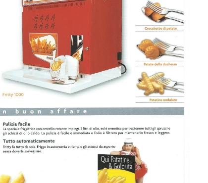 Foto di Vivastreet.it macchina per patate fritte e fornetto per bruschette usati