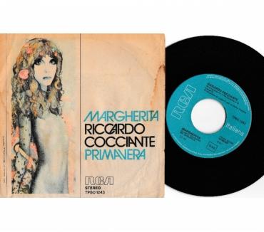 Foto di Vivastreet.it RICCARDO COCCIANTE - Margherita - ' 7 45 giri 1976 RCA