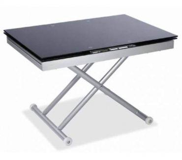 Foto di Vivastreet.it tavolino trasformabile okkio 100 cm nero-tavolini a roma