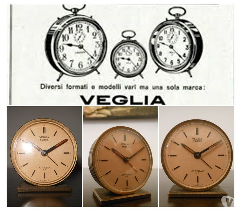 Foto di Vivastreet.it SVEGLIA VEGLIA, Vintage Miniature APPELLA 7 R, Ref. 380.