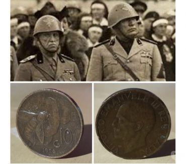 "Foto di Vivastreet.it Vittorio Emanuele III° (1900-1943) 10 centesimi 1926 ""Ape"