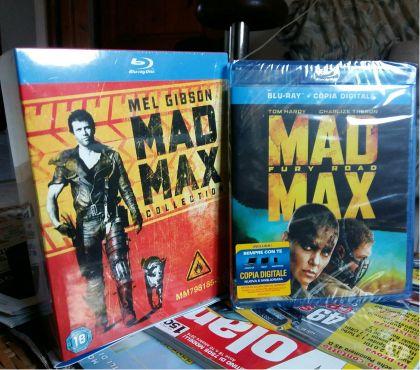 Foto di Vivastreet.it Serie Completa Blueray Mad Max in 2 cofanetti, Permuto