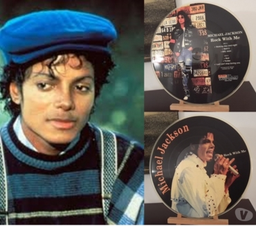Foto di Vivastreet.it MICHAEL JACKSON, Rock With Me, PICTURE DISC, ON STAGE RECORD