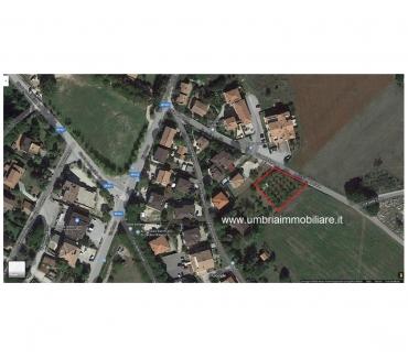 Foto di Vivastreet.it Rif. 425 terreno edificabile San Terenziano Gualdo Cattaneo