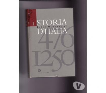 Foto di Vivastreet.it 2003 STORIA D'ITALIA ( 476 - 1250 ) Indro Montanelli