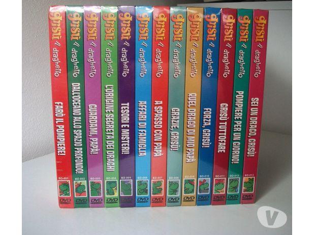 Grisù il draghetto tutta la serie in dvd firenze