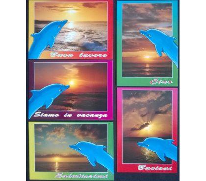 Foto di Vivastreet.it Tramonto e Mare - Lotto di 28 cartoline nuove a col.