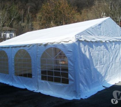 Foto di Vivastreet.it TENDONI GAZEBO TENSO 5 X 6 SILVER IN ACCIAIO E PVC 500 GR.