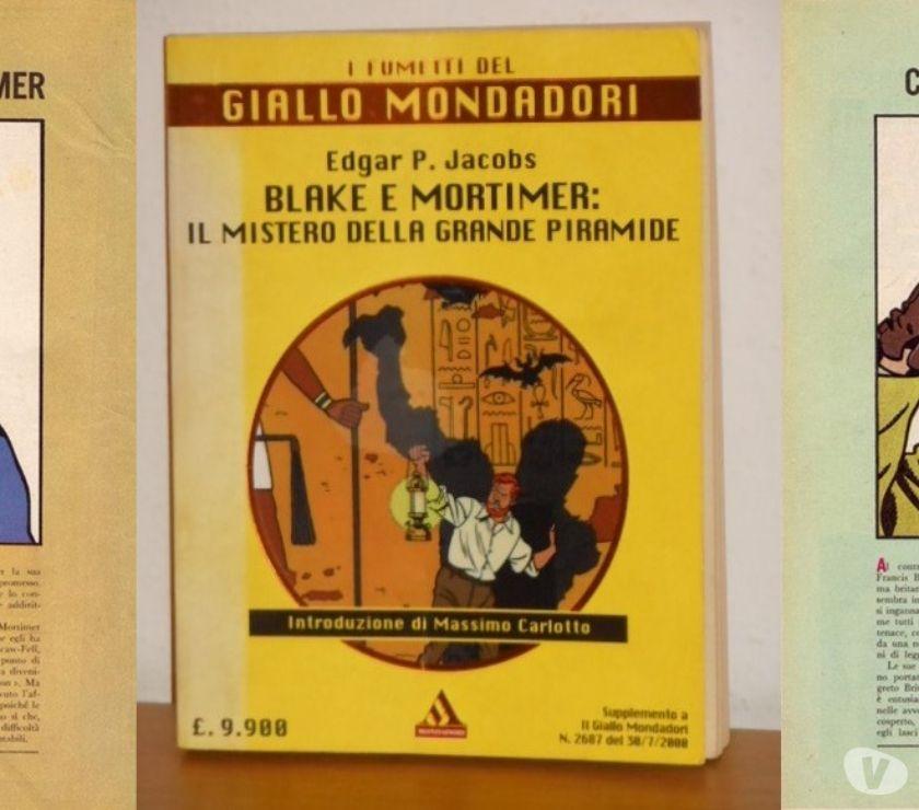 Foto di Vivastreet.it Blake e Mortimer: il mistero della grande piramide,Mondadori
