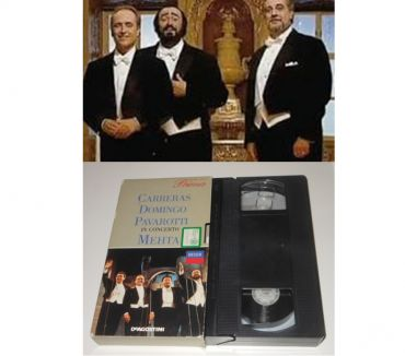Foto di Vivastreet.it VHS JOSE CARRERAS PLACIDO DOMINGO LUCIANO PAVAROTTI.