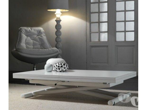 Tavolino trasformabile per monolocale lift wood in vendita - Mobili letto a scomparsa usati ...