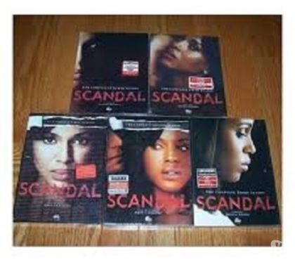 Foto di Vivastreet.it Dvd originali serie tv SCANDAL 6 stagioni