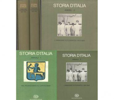 Foto di Vivastreet.it STORIA D'ITALIA, Annali 1 e 2, 1^ Edizione Giulio Einaudi Ed