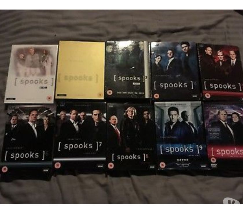 Foto di Vivastreet.it Dvd originali serie tv SPOOKS 10 stagioni