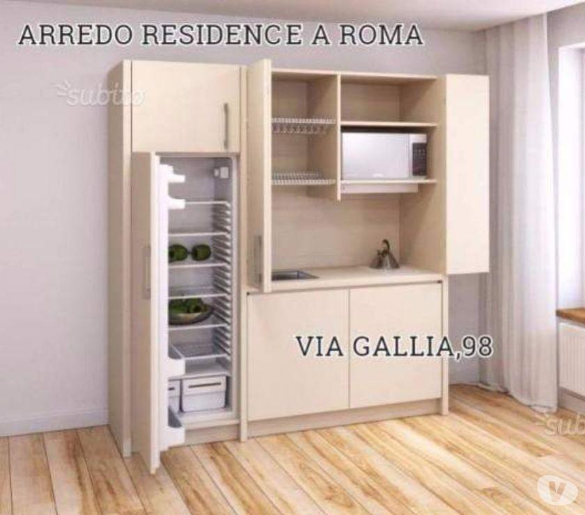 Mobili Via Gallia Roma.Arredo B B A Roma Via Gallia 98 Cucina Monoblocco 180 Cm Jol