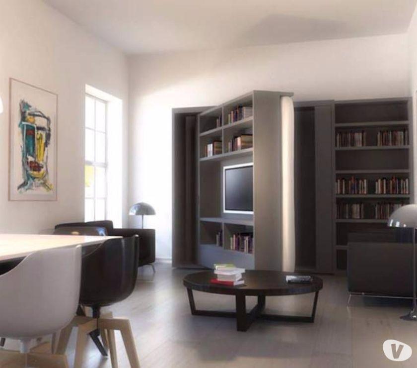 Letto a scomparsa girevole soggiorno-LETTI A ROMA in vendita ...