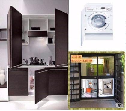 Foto di Vivastreet.it ARREDO B&B A ROMA-Cucina monoblocco l.185+Lavatrice