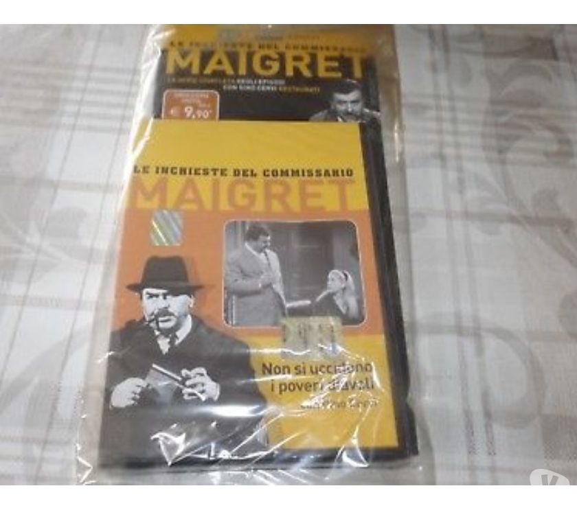 Foto di Vivastreet.it Dvd serie tv LE INCHIESTE DEL COMMISSARIO MAIGRET 4 stagioni