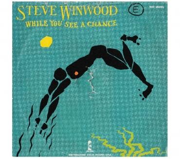 Foto di Vivastreet.it STEVE WINWOOD - While You See A Chance - '7 45 giri 1981