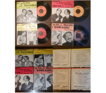 Foto di Vivastreet.it 45 GIRI, n. 4 dischi strofette, barzellette, scenette comich