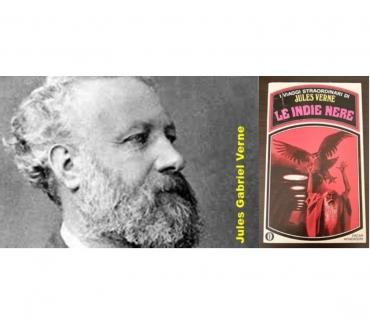 Foto di Vivastreet.it LE INDIE NERE, JULES VERNE, A. Mondadori 1^ Ed. 1971.
