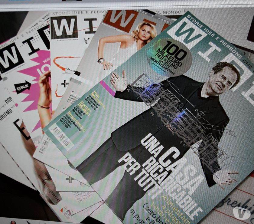 Foto di Vivastreet.it Lotto 5 numeri rivista wired Italia perfetti