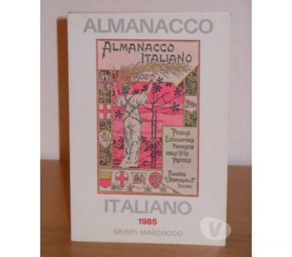 Foto di Vivastreet.it ALMANACCO ITALIANO 1985, GIUNTI MARZOCCO, NUOVO DA LIBRERIA