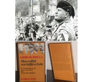 Foto di Vivastreet.it Mussolini socialfascista, Giorgio Bocca, Garzanti 1^Edizione