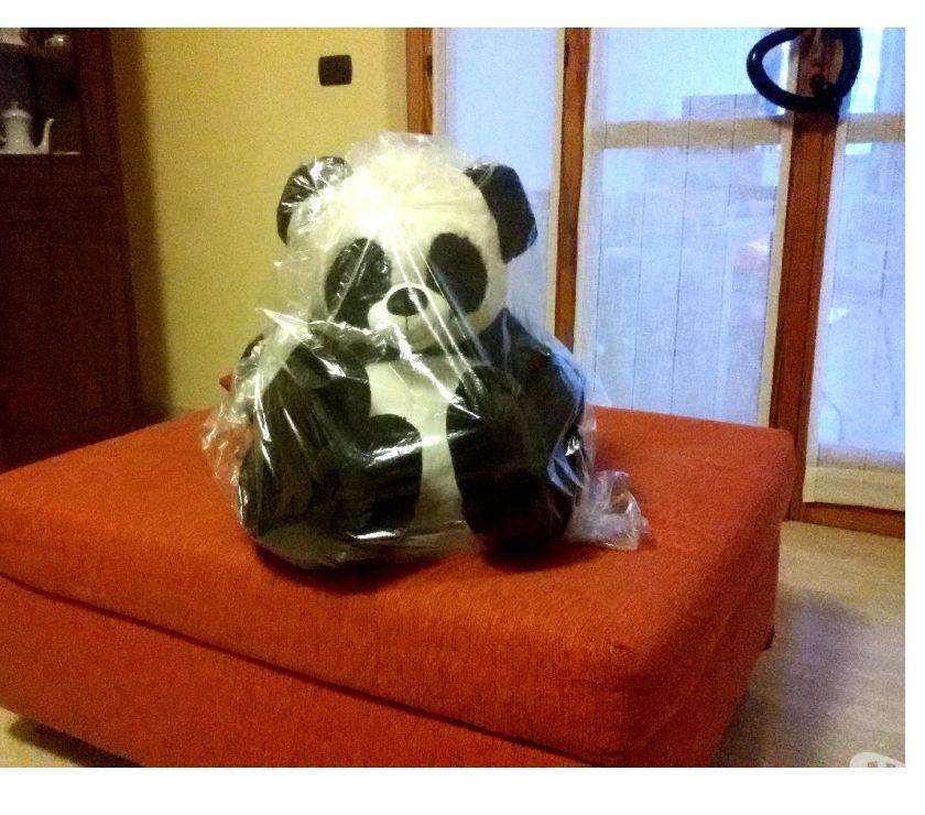 articoli per bambini e giocattoli Asti e provincia Asti - Foto di Vivastreet.it Pupazzo peluche Panda seduto lunghezza 80cm