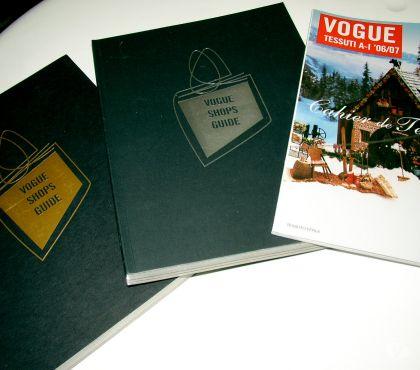 Foto di Vivastreet.it lotto riviste vogue shopping guide fabrics decade 2000