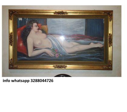 Foto di Vivastreet.it Dipinto quadro fatto a mano antiquariato in perfette condizi