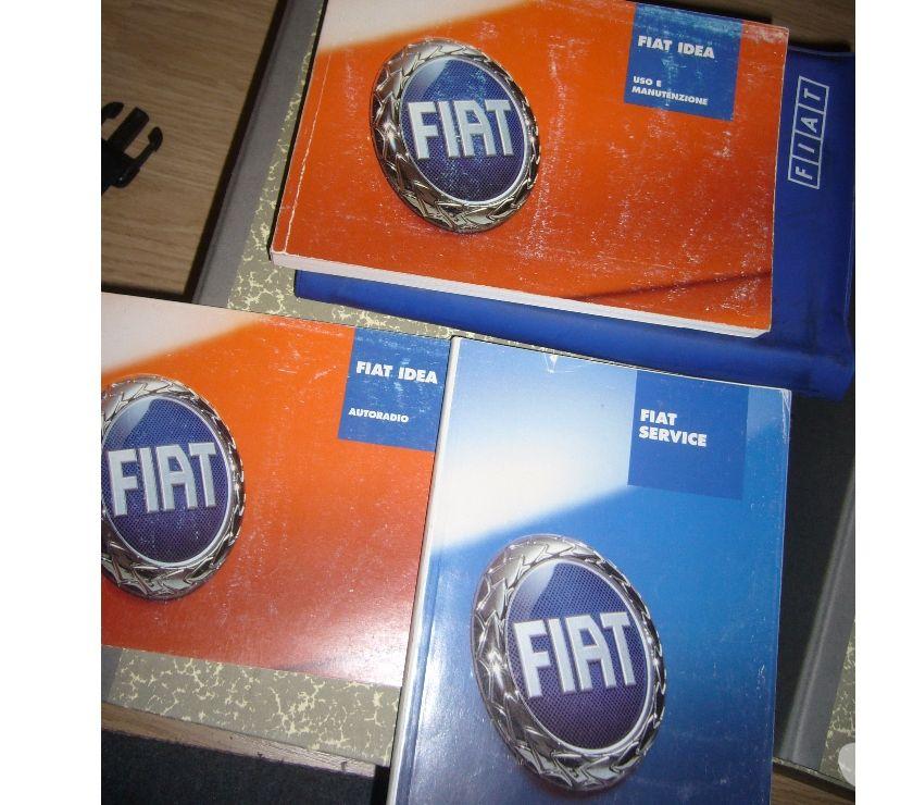 Foto di Vivastreet.it manuale uso manutenzione fiat idea 2003-2009