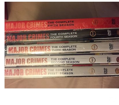 Foto di Vivastreet.it Dvd originali serie tv MAJOR CRIMES completa 6 stagioni