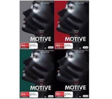 Foto di Vivastreet.it Dvd originali serie tv completa MOTIVE 4 stagioni