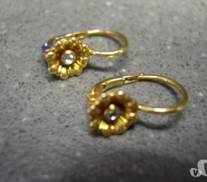 Foto di Vivastreet.it Orecchini in oro vintage con brillantini