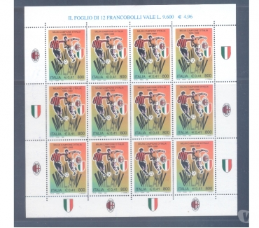 Foto di Vivastreet.it ITALIA: minifoglio milan 1999