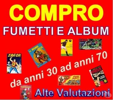 Foto di Vivastreet.it Cerco Fumetti ed album calciatori di pregio