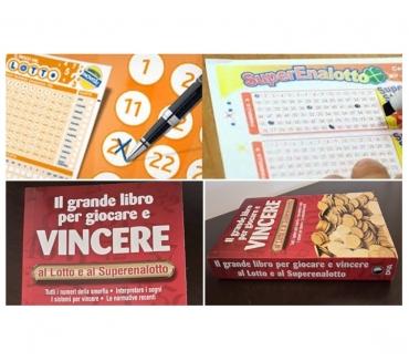 Foto di Vivastreet.it Il grande libro per giocare e VINCERE al Lotto e al Superena