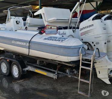 Foto di Vivastreet.it gommone clubman 26 joker boat 2x140cv 4t suzuki jhonson full