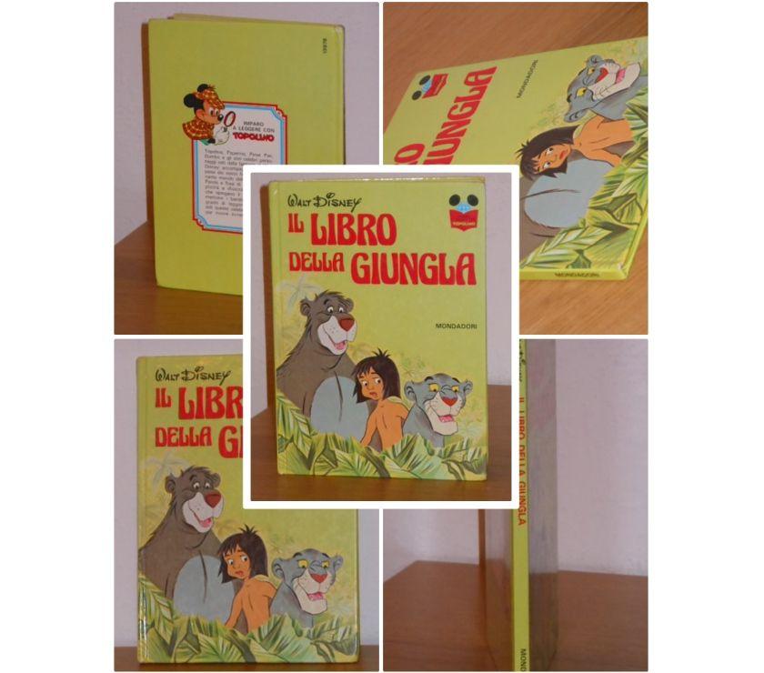 Foto di Vivastreet.it IL LIBRO DELLA GIUNGLA, IMPARO A LEGGERE CON TOPOLINO, 1^ Ed